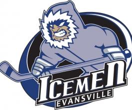 Evansville IceMen Logo Design