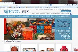Pioneer Plastics  Web Design
